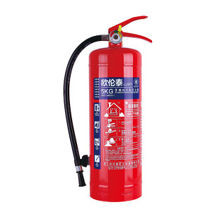 OLT/欧伦泰 手提式干粉灭火器(碳钢瓶体) MFZ/ABC5-1 灭火剂重5kg 1个