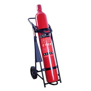 OLT/欧伦泰 推车式二氧化碳灭火器(合金钢瓶体) MTT/24 灭火剂重24kg 1个