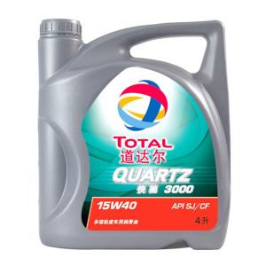 TOTAL/道达尔 柴油机油 快驰3000-15W40 4L 1桶