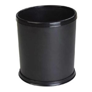 GENERAL/通用 圆形阻燃垃圾桶 020 24×26cm 10L 黑色 1个