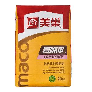 MEICHAO/美巢 易呱平内墙腻子 YGP400KF 抗粉化 20kg 1包