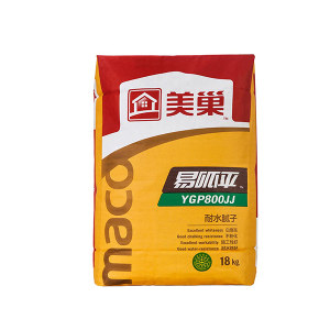 MEICHAO/美巢 易呱平内墙耐水腻子 YGP800JJ 18kg 1包