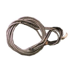 ZKH/震坤行 钢丝绳索具 φ16*4m 中铁专用 1根