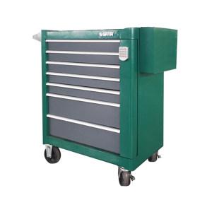 SATA/世达 7抽屉带轮工具车(密码锁) SATA-95107A 1台