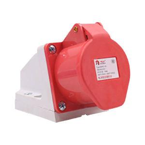 DELIXI/德力西 DEP2系列IP44工业明装插座 DEP2-125 32A 5芯 415V 1个