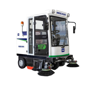 MINGNUO/明诺 封闭式电动扫地车 MN-E800FB DC48V 清洁效率13000m2/h 清扫宽度1.9m 1台