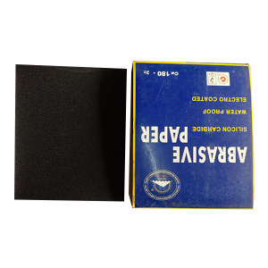 GOLDENSUN/金太阳 耐水砂纸 JY-180# 230*280mm 180# 100张 1包