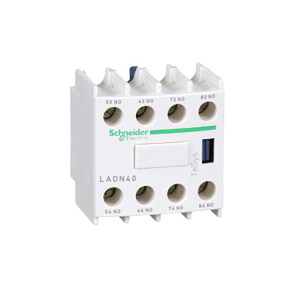 SCHNEIDER/施耐德电气 接触器辅助触头 LADN40 1个