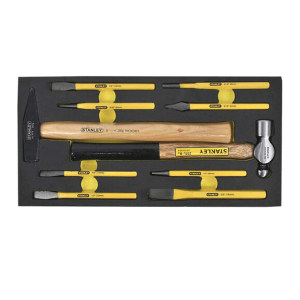 STANLEY/史丹利 EVA工具托组套-10件敲击系列 STANLEY-90-040-23 1套