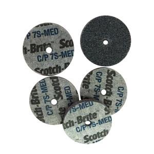 3M Scotch-Brite CP轮 05653 尺寸:2*1/4*1/4 硬度:7S MED 1片