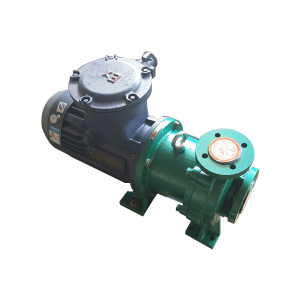 NANFANG/安徽南方 磁力泵 CQB50-32-160F N=4KW  AC380V 防爆电机 1台