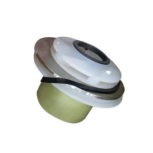NANFANG/安徽南方 氟塑料磁力泵过流总成 IMD65-50-160FT 5.5KW 含叶轮(叶联式) 、隔总(隔离套、轴承、黑套) 、密封圈(壳体封圈与隔套封圈) 、主轴 、隔套压板 1套