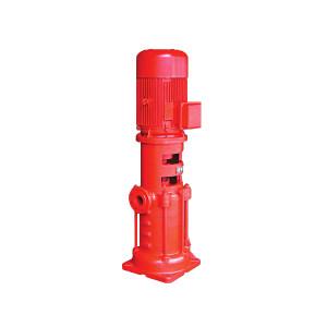 KQ/凯泉 XBD系列第二代多级消防泵 XBD16.5/60-200(DL)—2Cr13材质叶轮 立式多级泵 额定流量60L/s 额定扬程165m 1台