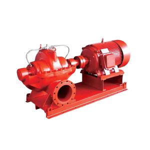KQ/凯泉 XBD系列第二代多级消防泵 XBD9/60-W200—2Cr13材质叶轮 卧式多级泵 额定流量60L/s 额定扬程90m 1台