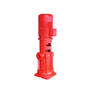 KQ/凯泉 XBD系列第二代多级消防泵 XBD18.4/70-200(DL)—2Cr13材质叶轮 立式多级泵 额定流量70L/s 额定扬程184m 1台