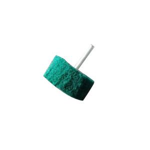 3M 绿色百洁布磨头 50*25*6mm 1片