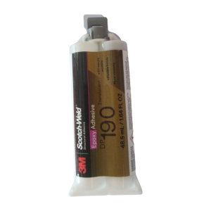 3M 环氧结构粘接胶-高强度半透明型 DP190 半透明 48.5mL 1支