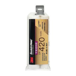 3M 环氧结构粘接胶-增韧型 DP420 50mL Off White乳白色 1支