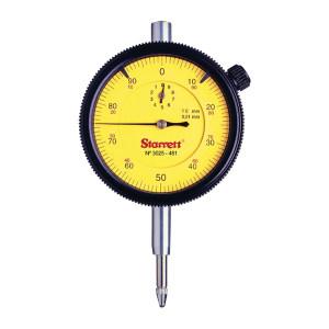 STARRETT/施泰力 3025系列机械式表盘百分表 3025-481 0-10×0.01mm 不代为第三方检测 1个
