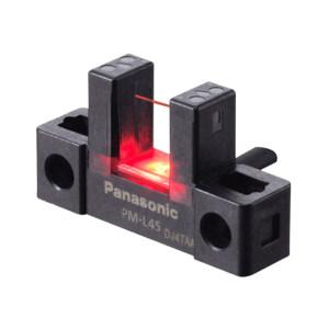 PANASONIC/松下 PM-45系列放大器内置U型微型光电传感器[小型电缆型] PM-L45 1个