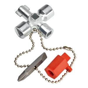 KNIPEX/凯尼派克 控制柜钥匙 00 11 02 44mm 1把