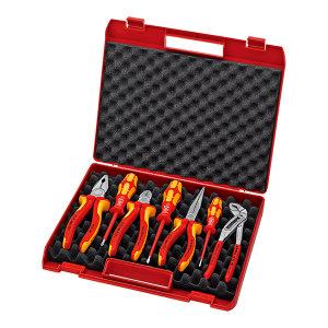 KNIPEX/凯尼派克 绝缘工具组套(专为电气承包商设计使用) 00 21 15 7件套 1套