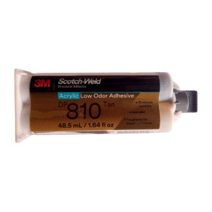 3M 丙烯酸结构粘接胶 DP810 半透明 48.5ML 1支