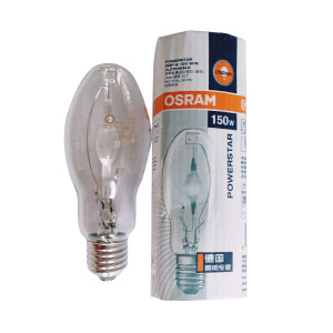 OSRAM/欧司朗 金卤泡 HQI-E 150W//N/SI/CLEAR 1个