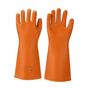 ANQUAN/安全 25kv绝缘手套 S025 橙色 410±15mm 交流电压21750V 1副