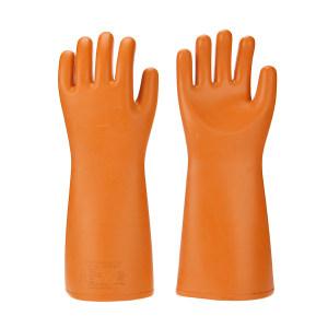 ANQUAN/安全 35kv绝缘手套 S035 橙色 410±15mm 交流电压30000V 1副