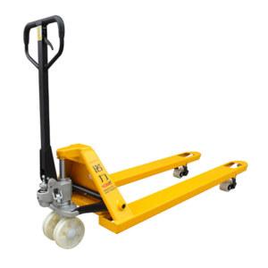 NOBLELIFT/诺力 手动托盘液压搬运车 AC-685*1220PA3.0T 载荷3000kg 货叉外宽685mm 货叉长度1220mm 尼龙轮(前轮双轮)黄色 1台