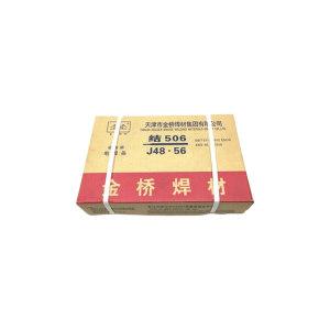JINQIAO/金桥 结506低碳钢焊条 J506 4.0mm 20kg 1箱