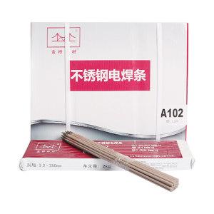 JINQIAO/金桥 不锈钢电焊条 A102-4.0mm(E308-16) 20kg 1箱