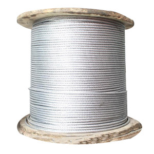 GENERAL/通用 镀锌钢丝绳 φ6-定制 拉力400kg 捆绑用 1米