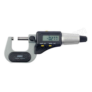 HMCT/哈量 电子数显外径千分尺 727-01 0-25×0.001mm 不代为第三方检测 1把