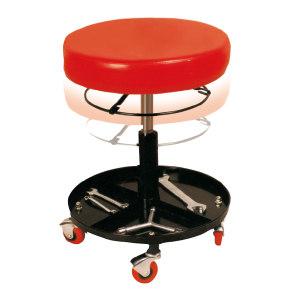 BIGRED 圆型可升降修车凳 TR6201CX 产品尺寸380×380×440mm 1个