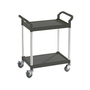 K+K/皇加力 通用推车 507560 2块搁板,承重可达200kg,长x宽x高850x480x950,黑色 1个