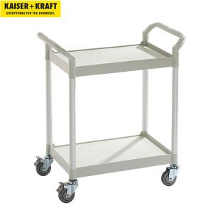 K+K/皇加力 通用推车 944536 2块搁板,承重可达200kg,长x宽x高850x480x950,浅灰色 1个