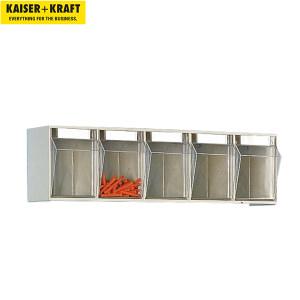 K+K/皇加力 防尘透明零件盒 977090 外壳高x宽x深164x600x133,5盒,沙米色,10件以上 1个