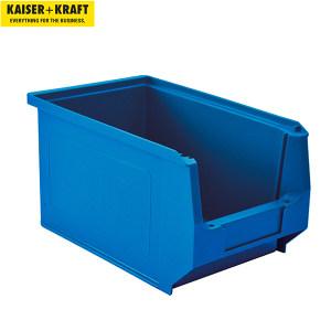 K+K/皇加力 前开口零件盒 269425 容量3.3L  蓝色 25个 1包