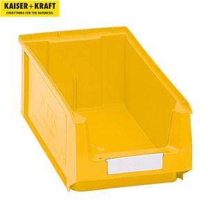 K+K/皇加力 前开口零件盒 269530 容量7.46L  黄色 14个 1包