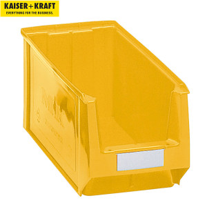 K+K/皇加力 前开口零件盒 269638 容量11.25L  黄色 10个 1包