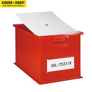 K+K/皇加力 可堆叠运输盒防尘盖 612210 长x宽200*140mm  适用于210*150mm的堆叠箱 10个 1包