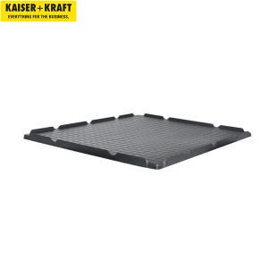 K+K/皇加力 塑料托盘围栏用盖子 519035 适用于长x宽1200x1000,黑色 1个