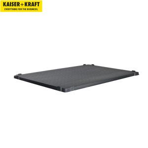 K+K/皇加力 塑料托盘围栏用盖子 978048 适用于长x宽1200x800,黑色 1个