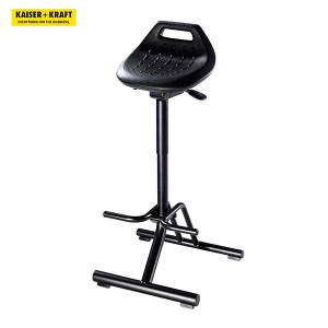 K+K/皇加力 bimos抗疲劳工作椅 982418 带可折叠底架和脚踏座椅可旋转360° 1个
