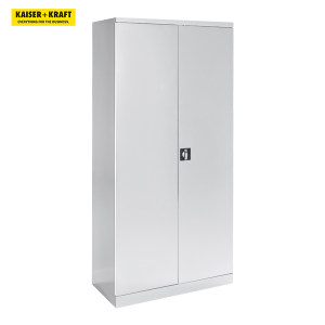 K+K/皇加力 QUIPO存储柜 114622 宽度950,8块拉出式搁板,1块中央隔板浅灰色门 1个