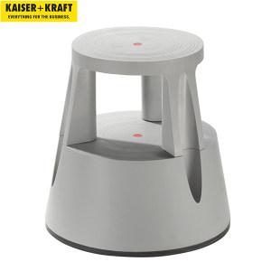 K+K/皇加力 防碎塑料材质脚凳 517298 承重可达150kg 负重时高度为410mm 灰色 1个