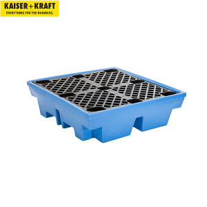 K+K/皇加力 带PE格栅的PE贮存盘 117195 4x200L 圆桶容量410L 1个