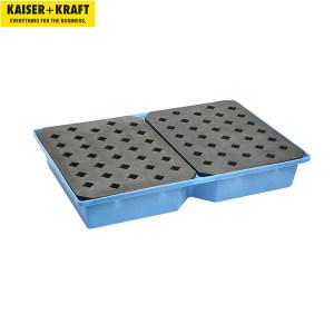 K+K/皇加力 小容器和托盘式贮存盘 117191 长x宽x高1200x800x185mm 贮存盘容积100L 带格栅 1个